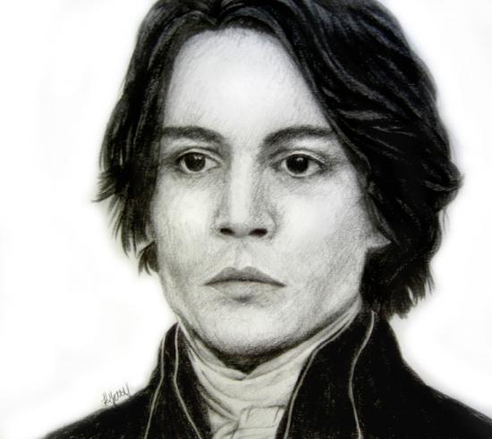 Johnny Depp by Absinthian
